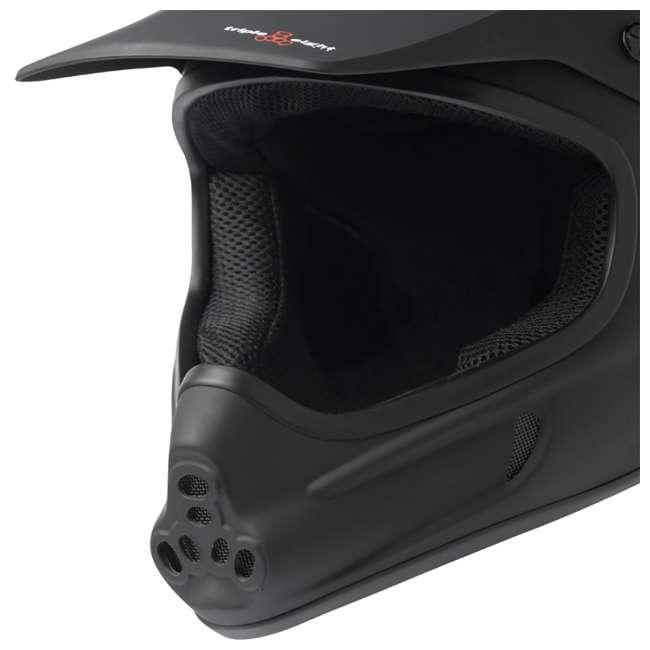 T8-3700-U-B Triple 8 Dual Certified EPS Mountain Bike Invader Helmet, Size XS/S (Used) 1