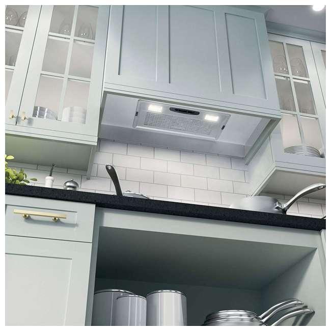 JVC3300JSA GE JVC3300JSA 3 Speed Under Cabinet Kitchen Range Exhaust Hood Fan Vent w/ Light 3
