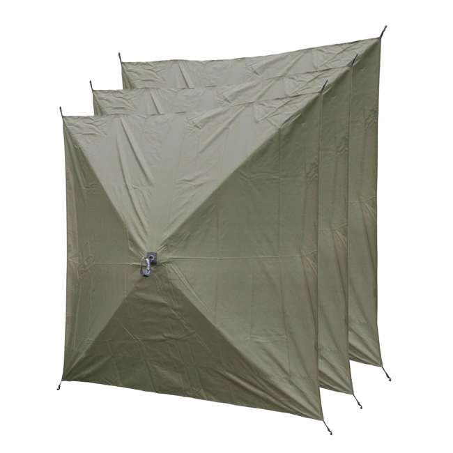 CLAM-WP-9294-U-A Quick-Set Screen Hub Fabric Wind & Sun Panels Accessory Only (3 pack) (Open Box)