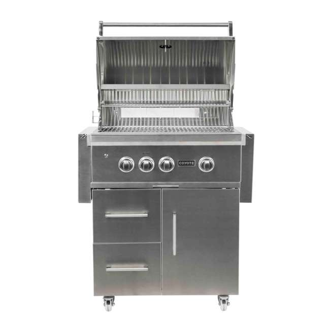 C2SL30NG-FS Coyote C2SL30NG-FS 30 In S Series 700 Sq In Stainless Steel Natural Gas Grill 1