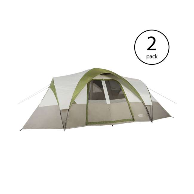 9303018 Wenzel Mammoth 16-Person Family Camping Tent (2 Pack)
