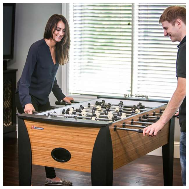 G01342W Atomic Games Pro Force Arcade Foosball Soccer Table 1