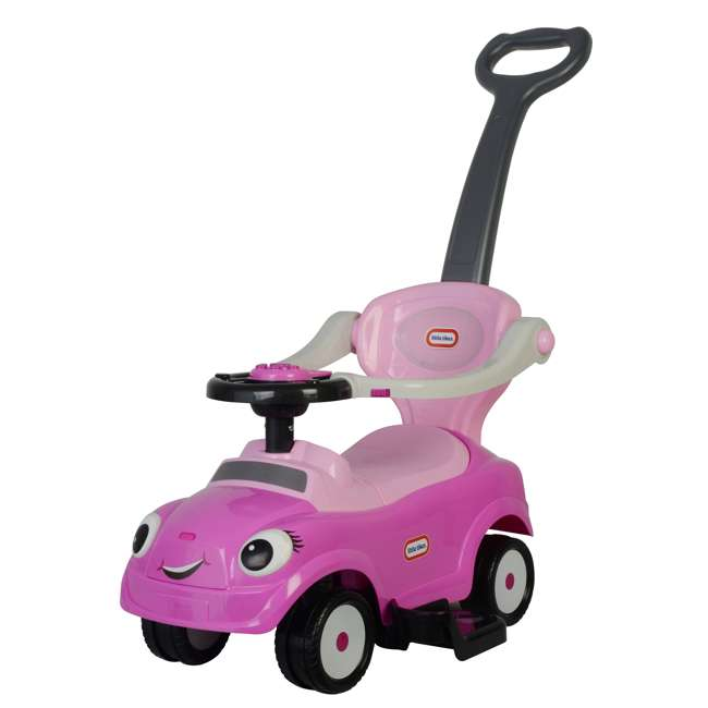 3 in 1 Little Tike - Pink Best Ride On Cars Baby 3 in 1 Little Tikes Push Car Stroller Ride On Toy, Pink 3