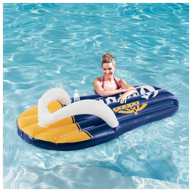 P20014482167 + K70927E00167 + KF0226B00167 14 Foot x 48 Inch Regular Frame Pool & Corona Flip-Flop Floats & Corona Cooler 8