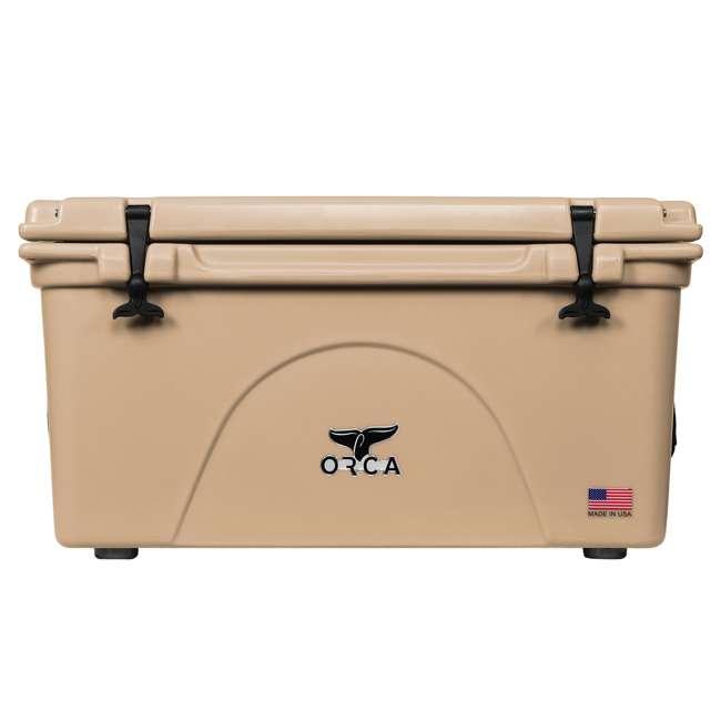 ORCT075 ORCA 75-Quart 15.6-Gallon Ice Cooler, Tan 3