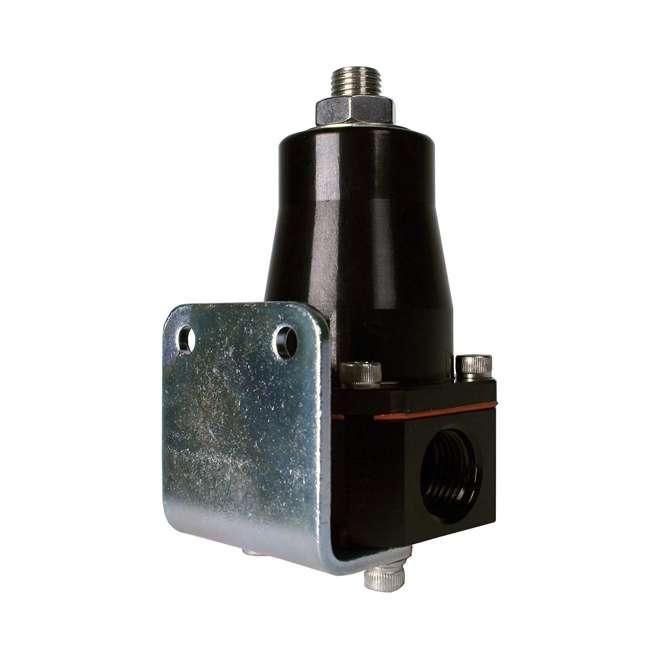 AERO-13136 Aeromotive AERO-13136 Compact Cleaner and Lighter EFI Bypass Regulator, Black 2