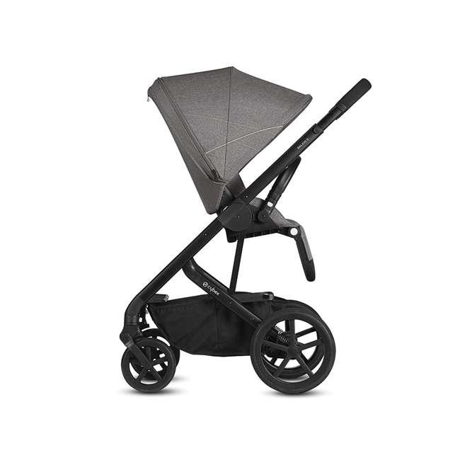 518001059-U-A Cybex Balios S 3 in 1 Folding Stroller, Lava Stone Black (Open Box) 2