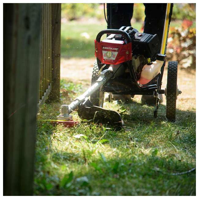 SWSTM4317 Southland SWSTM4317 Gas Powered Wheeled String Trimmer Lawn Mower 2