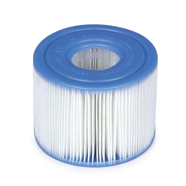 29001WL Intex 29011E Type S1 Easy Set Pool Filter Replacement Cartridges (6 Filters) 1