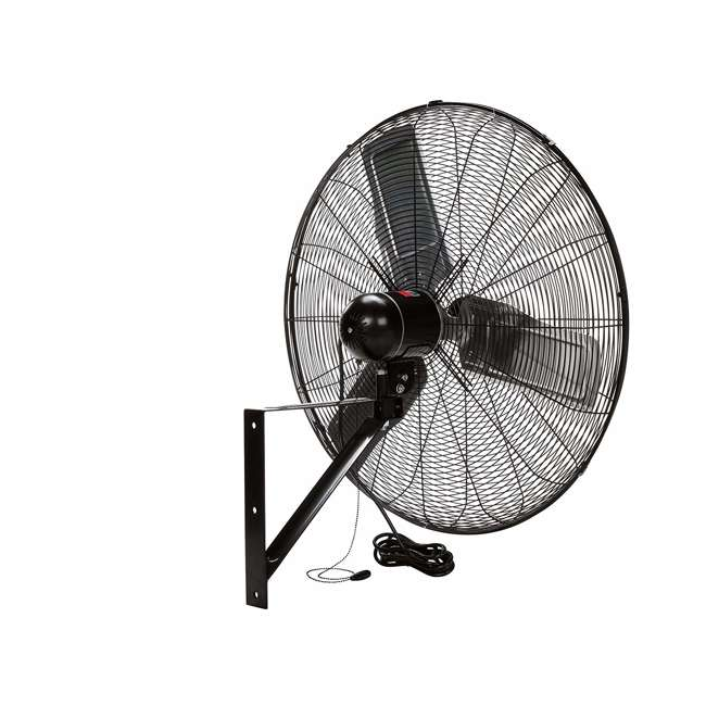 "CACU30W TPI Corporation 30"" 3-Speed Single-Phase Wall Mount Commercial Circulator Fan 3"