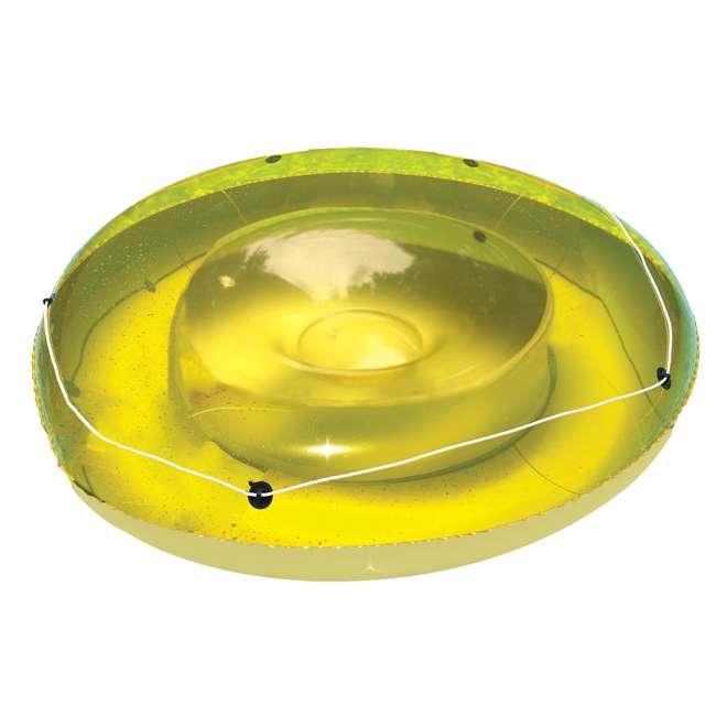 9050 Swimline 9050 Swimming Pool Sun Tan Lounger Island Float Inflatable