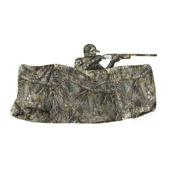 25322 Allen Company 56-Inch Hunting Blind 12-Foot Netting, Realtree Edge Forest Camo 1
