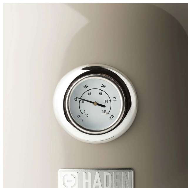 75002 Haden Dorset 1.7 Liter Stainless Steel Electric Kettle with Auto Shut Off, Beige 2