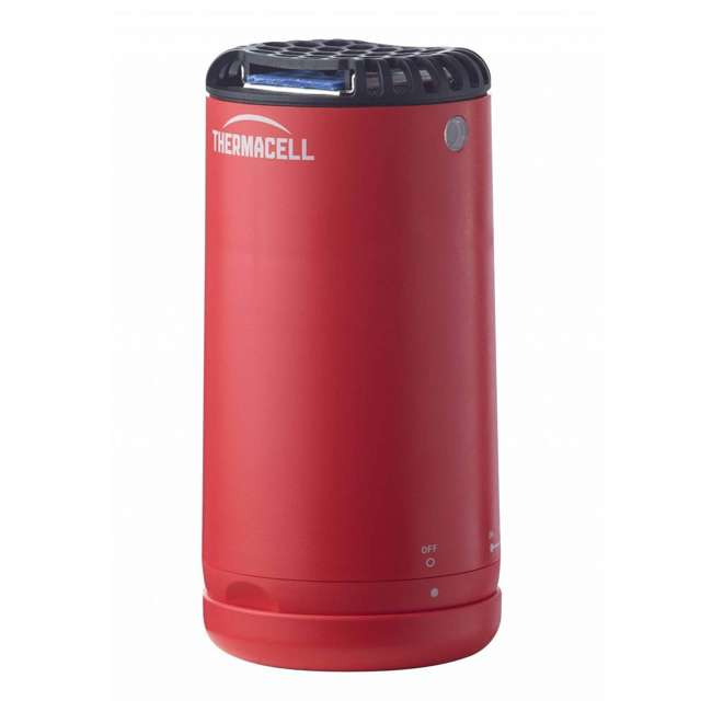 MRPSR Thermacell Outdoor Patio and Camping Shield Mosquito Insect Repeller, Fiesta Red 4