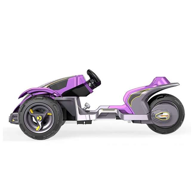 FLC34  Power Wheels Kids Electric Mini ATV Boomerang Ride-On , Purple 2