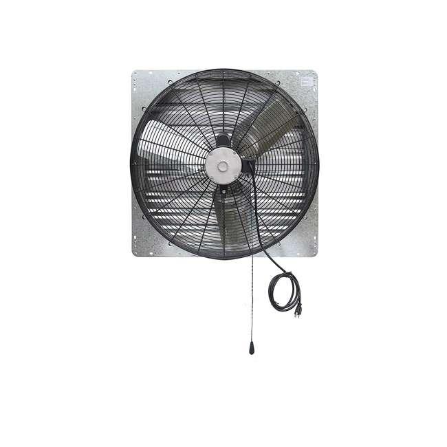 ILG8SF30V-T iLiving ILG8SF30V-T 2 Speed 30 Inch Exhaust Attic Garage Grow Fan w/ Thermostat 2