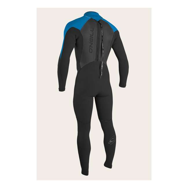 4212-AB3-M Epic 4/3 MM Thick Back Zip Full Body Wetsuit, Large 1