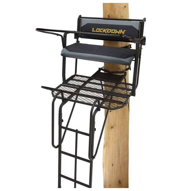 RE650 River's Edge RE650 Lockdown 21-Foot 2-Man Tree Ladder Stand (2 Pack) 1
