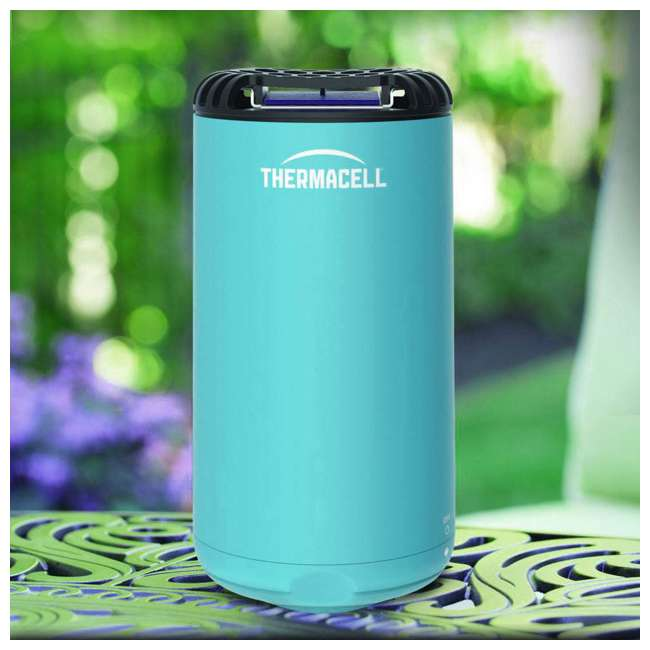MRPSB Thermacell Outdoor Patio & Camping Shield Mosquito Insect Repeller, Glacial Blue 2