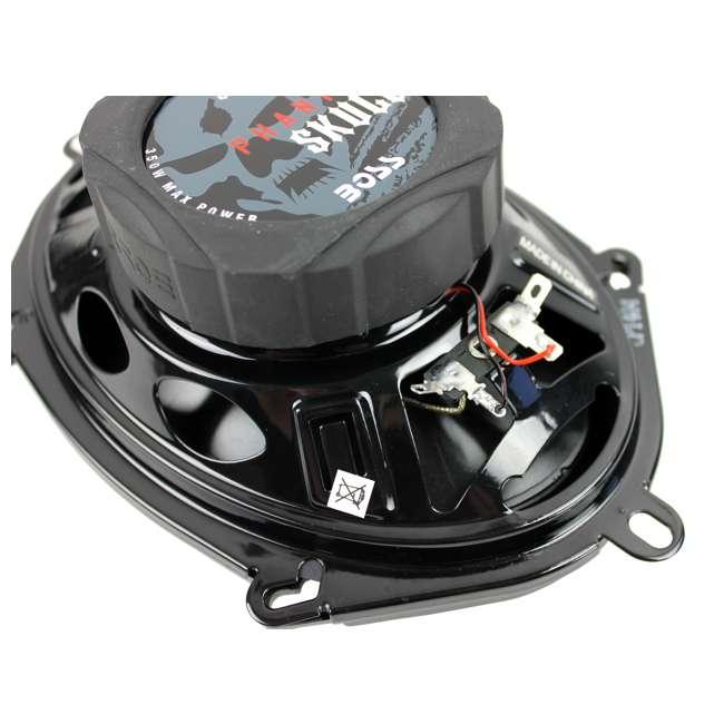 """SK573 Boss SK573 5x7"""" 350W 3 Way Car Audio Coaxial Speakers (Pair) 4"""