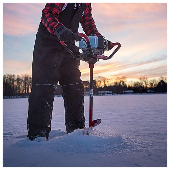 ESK-F1R08-OB Eskimo F1 Rocket 8-Inch 33cc Gas Engine Ice Fishing Drill Auger (Open Box) 4