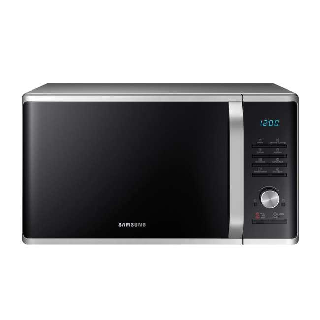 MS11K3000AS-RB Samsung 1.1 Cubic Foot Countertop Microwave Oven, Black (Certified Refurbished)