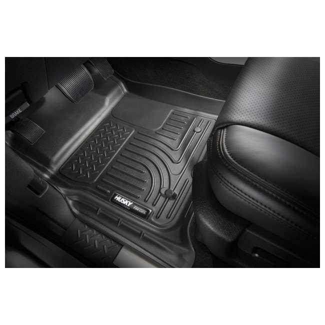 HUSKY-18371-OB Husky Liner Weatherbeater Front Floor Liner for Ford Expedition & Lincoln Navigator 1