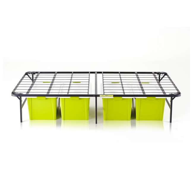 VMI-TIB2-112 intelliBASE Bi-Fold Metal Bed Frame, Twin (2 Pack) 4