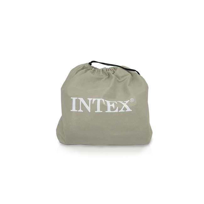 66776E Intex Classic Full Air Mattress With Built-In Pillow And Pump  4