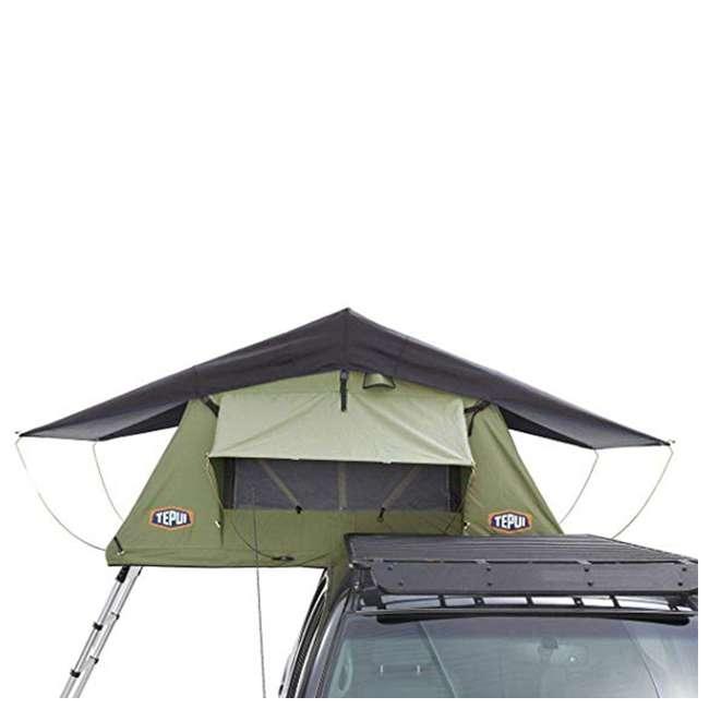 01KRG051606 + 1060001 Tepui Kukenam Ruggedized Sky 3 Person Outdoor Roof Top Tent & Hydraulic Jack 3