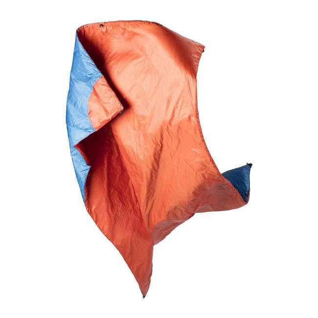 "13VBOR01C Klymit Versa 58 x 80"" Lightweight Polyester Camping Blanket & Comforter, Red 1"