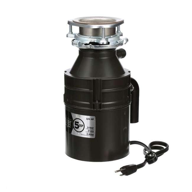 BADGER-5XP-OB InSinkErator Badger 5XP 3/4HP Garbage Disposal 1