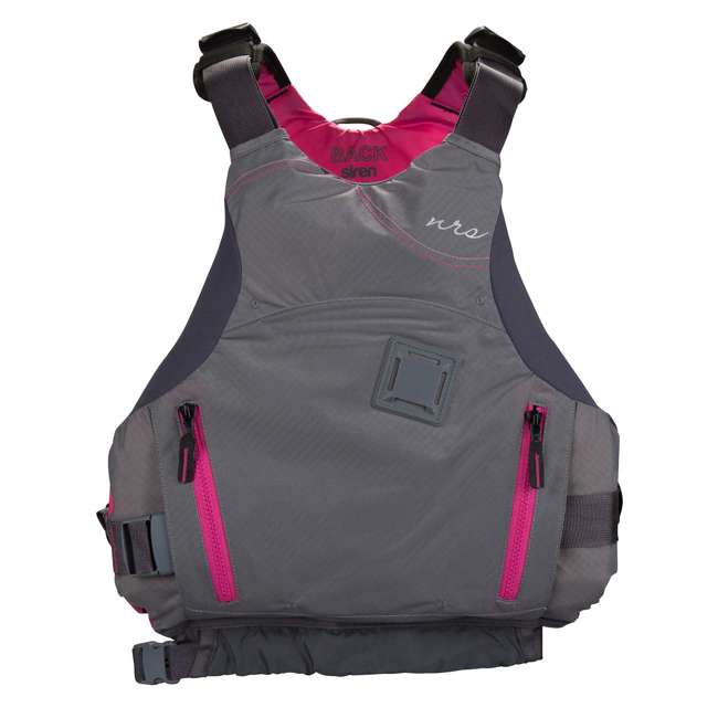 NRS_40036_02_100 NRS Women's Siren PFD Life Jacket, Charcoal, XS/Medium