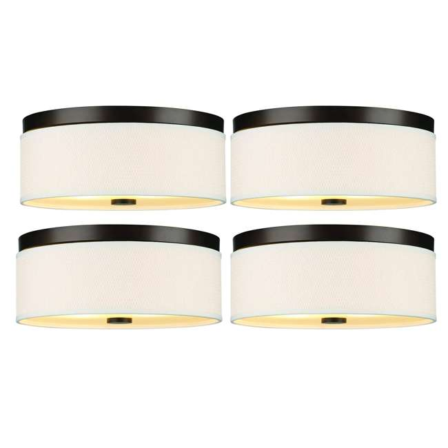 4 x PLC-F615020 Philips Forecast 60W Cassandra Ceiling Light, Sorrel Bronze (4 Pack)