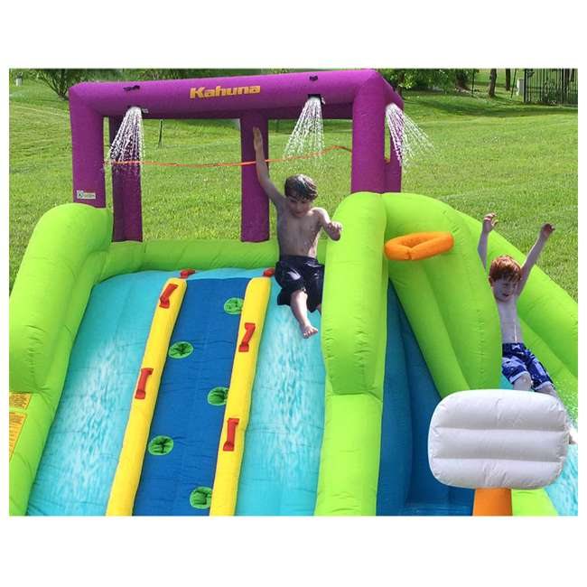 90360 Kahuna Triple Blast Inflatable Water Slide (2 Pack) 3