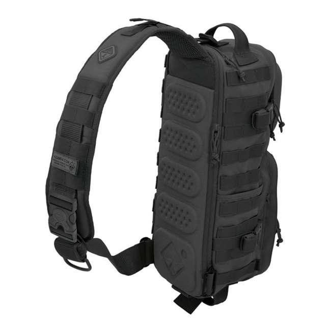 BS-PB17-BLK-U-B Hazard 4 Plan B Sling Thermo Cap Go Bag Backpack Sling Pack, Black (Used) 1