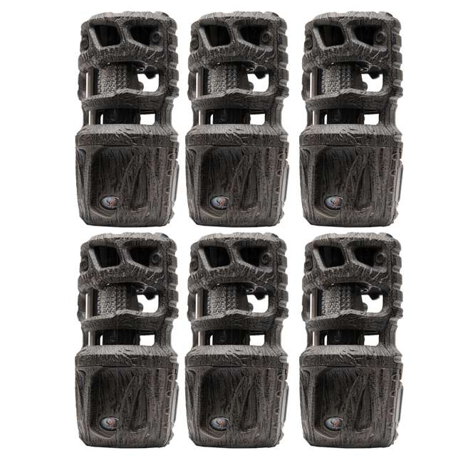 6 x WGI-R12i207 Wildgame Innovations 360 Degree 12MP Crush Game Trail Camera, Camo (6 Pack)