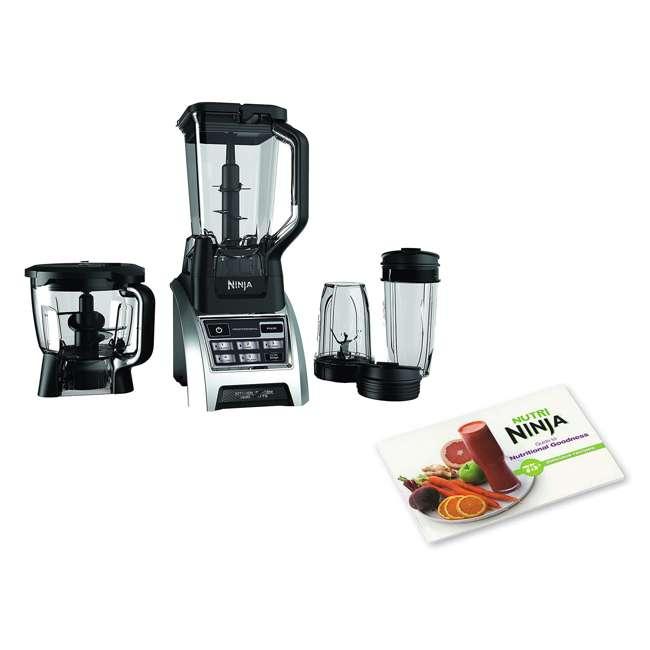 Ninja 1500W Professional Kitchen Blender System & Nutritional Goodness Cook  Book