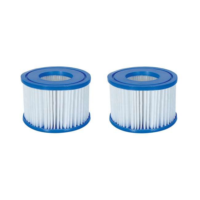 58323-BW Bestway Spa Filter Pump Cartridge Type VI 58323 (Coleman Compatible) (2 Pack)