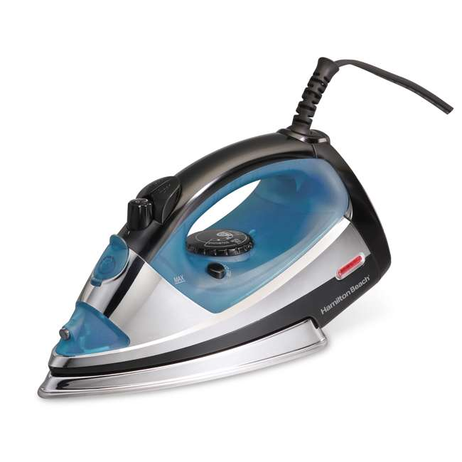 14710 Hamilton Beach 14710 1200W Electric Adjustable Steam & Spray Clothes Iron, Blue