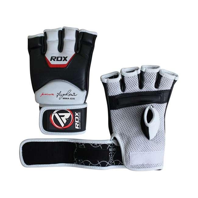 GGL-T3W-L RDX T3 MMA Gel Padded Combat Grappling Gloves, Large 5