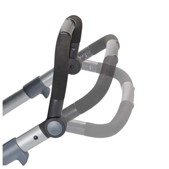 13812254 Evenflo Pivot Xpand Full Size Modular Convertible Baby Stroller, Percheron Gray 6
