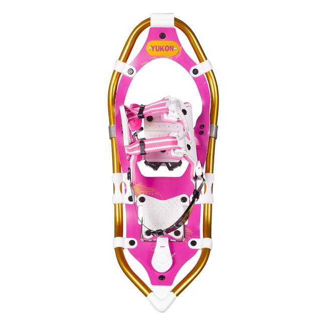 80-2011 Yukon Charlie's Pro Float Heavy Duty Women's Fashion Winter Snowshoes, Pink 1