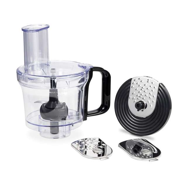 GM25B + GMFP Geek Chef GM25R 2.6 Quart 7 Speed Tilt Head Stand Mixer & Food Processor Chopper 2