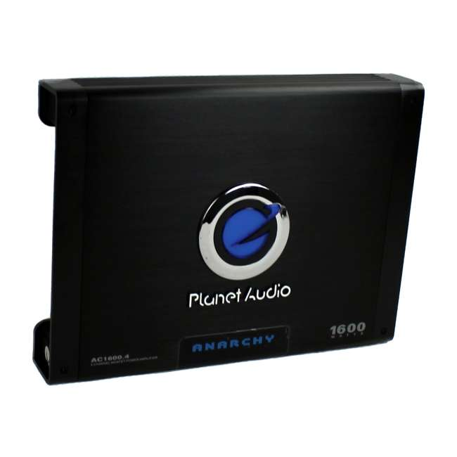 AC16004 PLANET AUDIO AC1600.4 1600W 4 Channel Amplifier With Remote 1