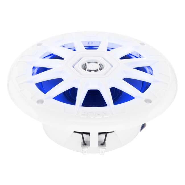 MRGB65 Boss Audio Marine 200W MRGB65 6.5 Inch Boat Light White Speakers Pair (Pair) 1