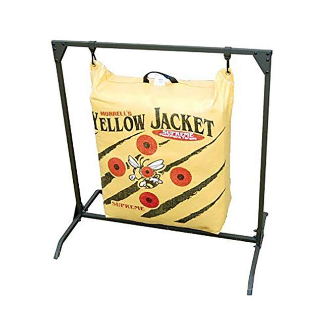H60450 Hurricane H-20 Deer Archery Target w/ HME Bowhunting 30 Inch Bag Target Stand 4