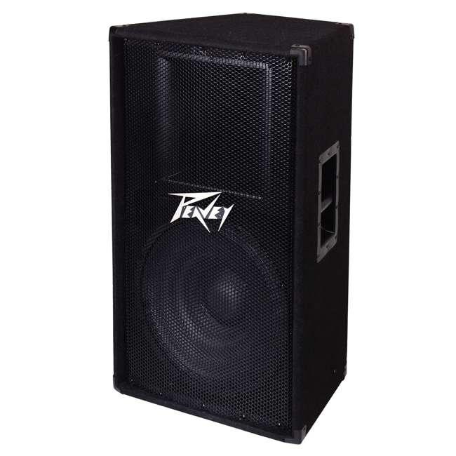 PV-115 + 2 x PSTND3 Peavey 15-Inch 2-Way 800-Watt Speakers (Pair) + Pyle 58-Inch Speaker Poles (Pair) 1