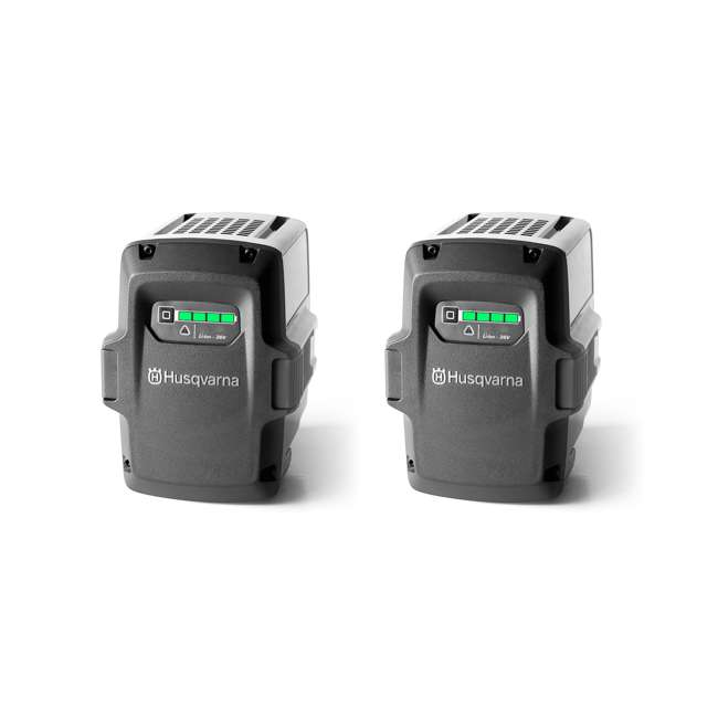 BLi80 Husqvarna 36-Volt 2.1 Ah Lithium-Ion Battery (2 Pack)