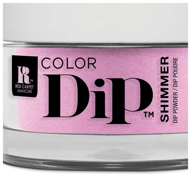 Red Carpet Manicure Color Dip Nail Dip Powder Brigh As